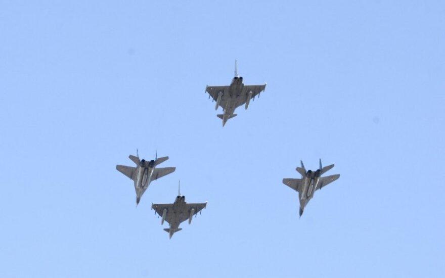 NATO oro policija kilo į dangų dėl Rusijos orlaivių