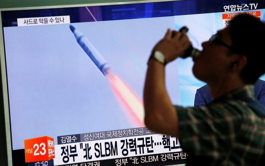 """Šiaurės Korėja: JAV turi pripažinti mus """"branduolinį ginklą turinčia valstybe"""""""