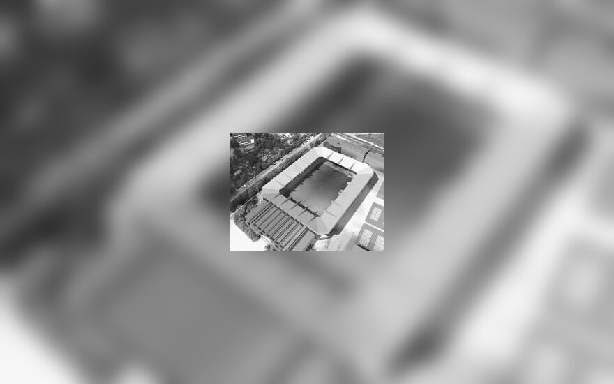 """Rekonstruotas """"Žalgirio"""" stadionas"""