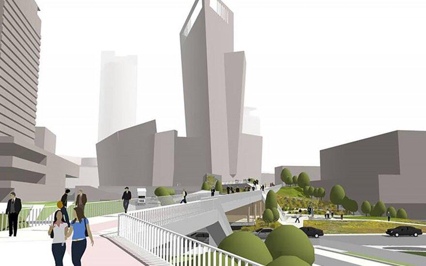 Baltojo tilto - Europos aikštės jungties projektas