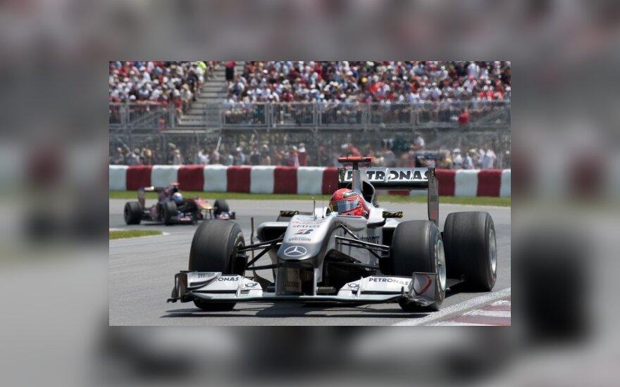 "Michaelis Schumacheris su ""Mercedes"""