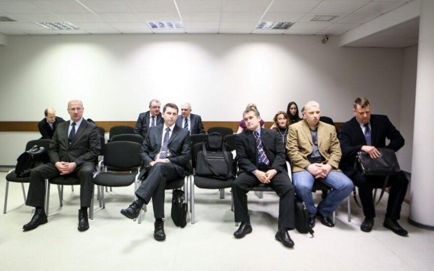 Visvaldas Račkauskas, Vitalijus Vitkovskis, Dariušas Sinkevičius, Emilijus Damukaitis ir Tomas Ulpis