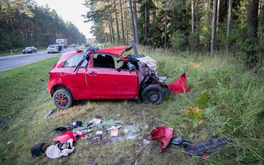Tragiška avarija Trakų rajone