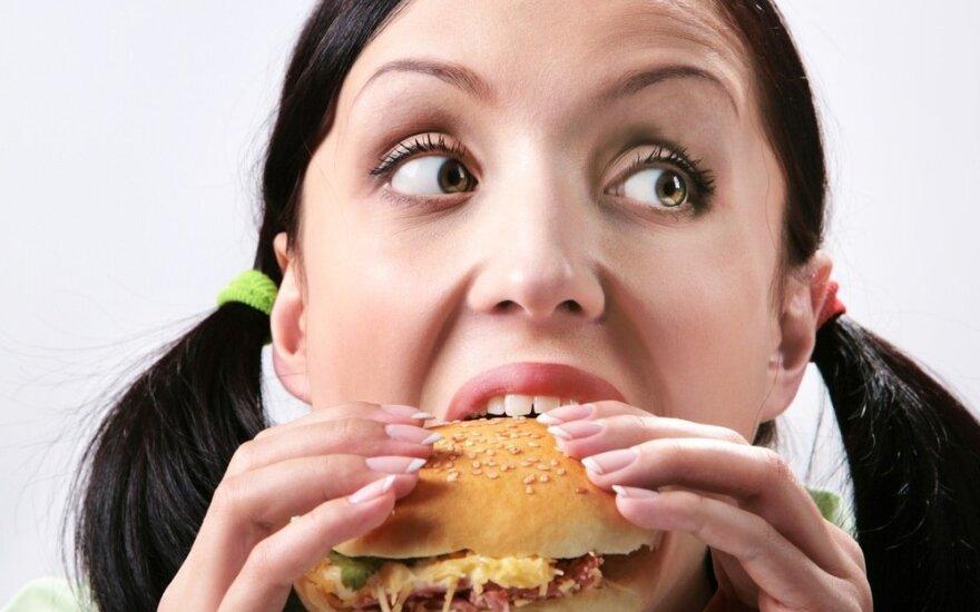 Kalorija – ne žvirblis: apie emocijas, kurias raminame maistu