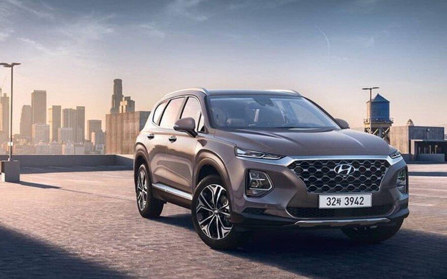 """Naujos kartos """"Hyundai Santa Fe"""""""