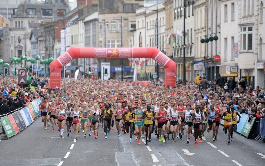 Kardifo pusės maratono bėgimas