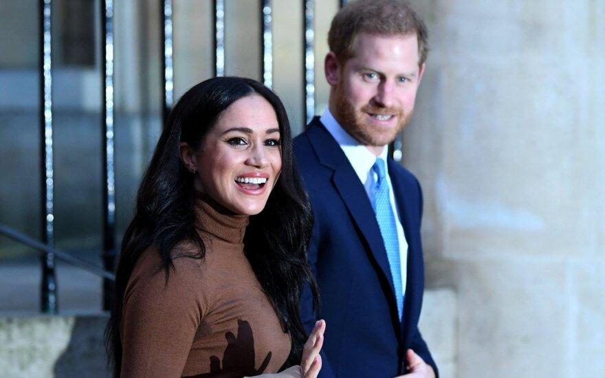 Meghan Markle su princu Harry