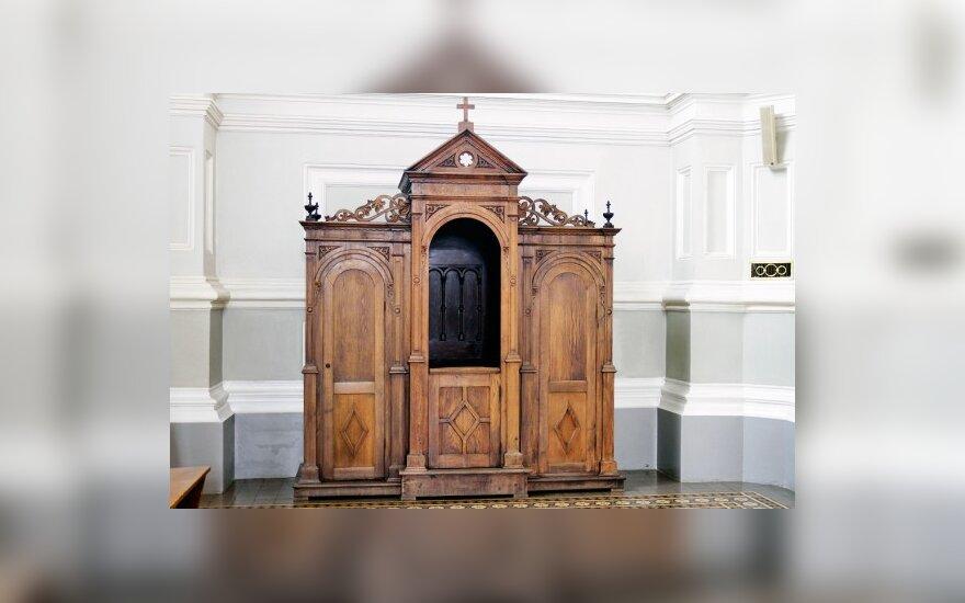 Arkivyskupija: klausykla – ne sauna
