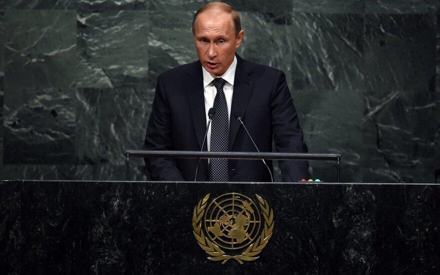 Vladimir Putin at the UN