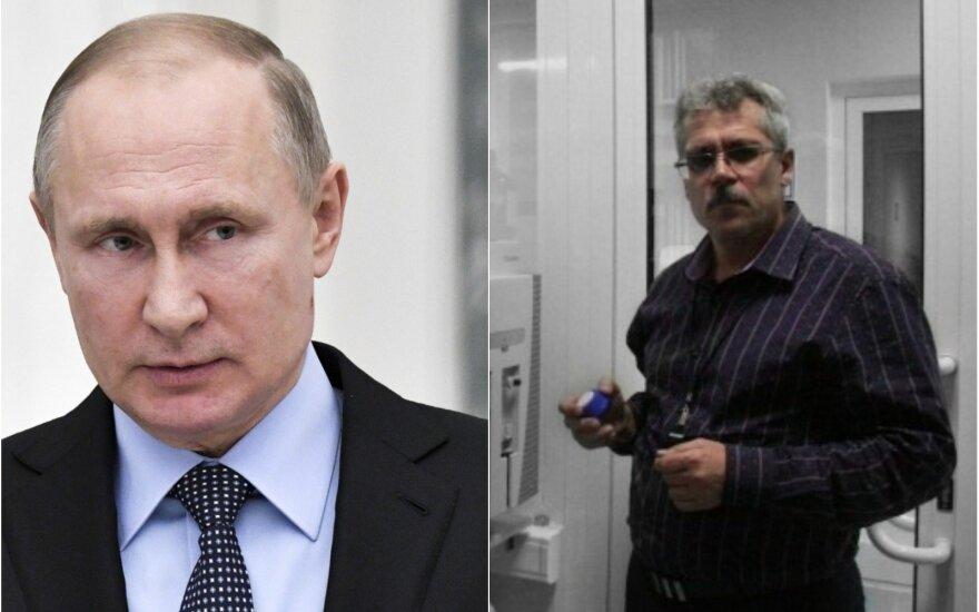 Vladimiras Putinas ir Grigorijus Rodčenkovas