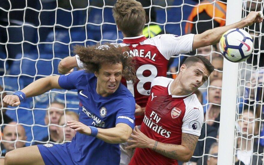 "Londono derbyje – ""Chelsea"" lygiosios su ""Arsenal"", o ""Man United"" sutraiškė ""Everton"""