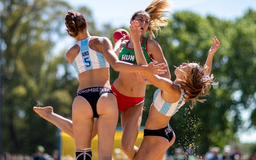 Jaunimo olimpiados paplūdimio rankinio finalai