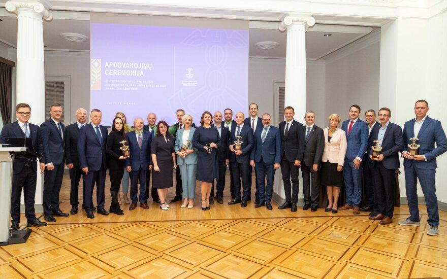 Prekybos, pramonės ir amatų rūmai apdovanojo metų eksportuotojus ir verslininkę
