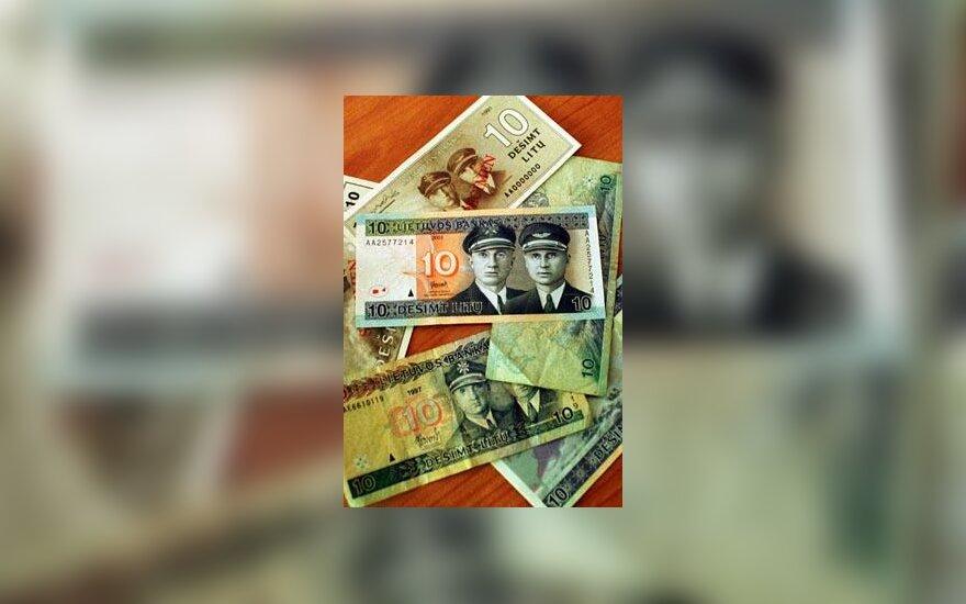 Naujas 10 litų banknotas