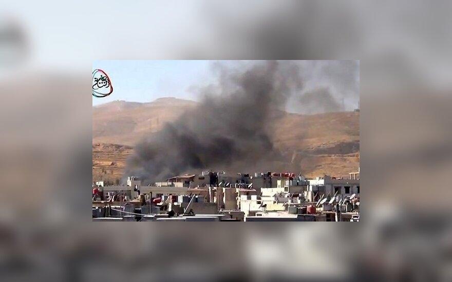 Sirijos sostinėje sprogo šaudmenų sandėlis – valstybinė žiniasklaida