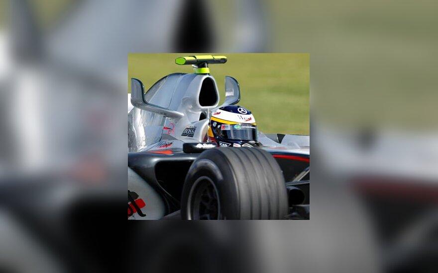 """Pedro de la Rosa (""""McLaren"""")"""