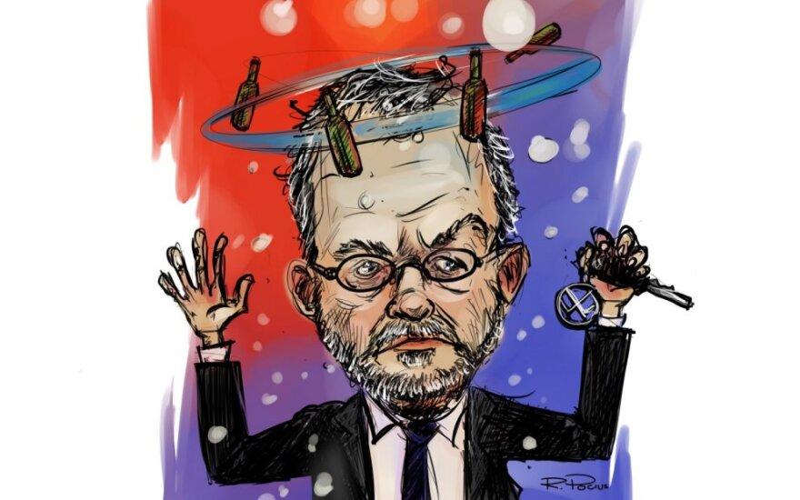 Linas Balsys – Rimo Pociaus karikatūra