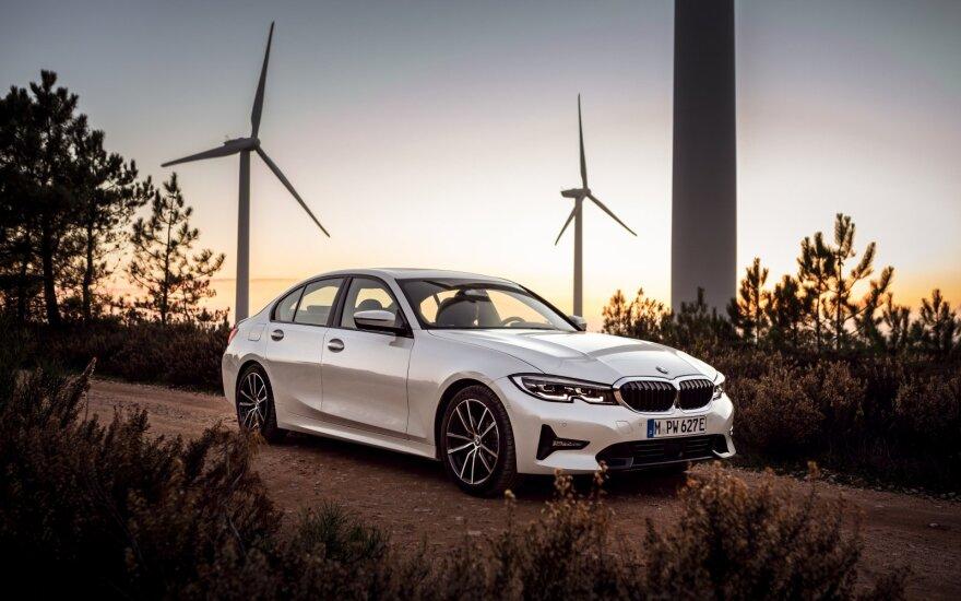 BMW Ženevos automobilių parodoje pristatys naujų 3 serijos modelių