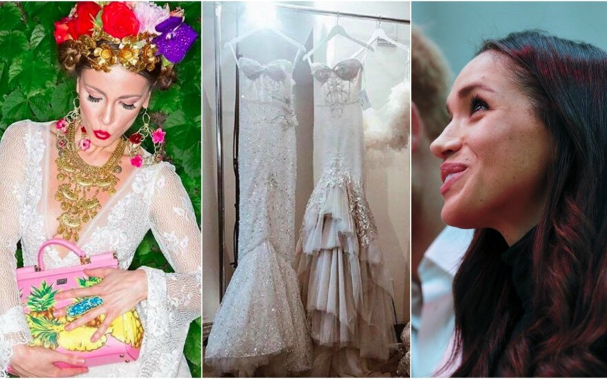 Meghan Markle renkasi vestuvinę suknelę
