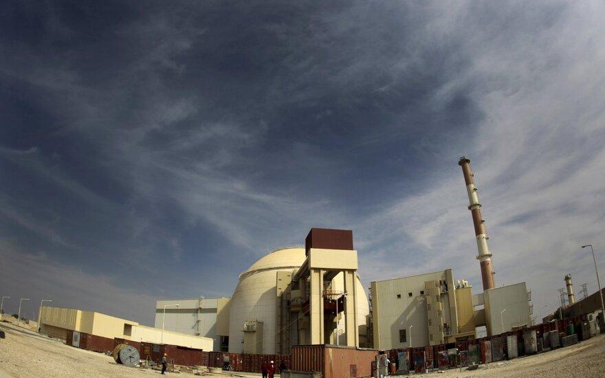 Iranas Bušehro gamykloje pradeda statyti 2-ąjį branduolinį reaktorių