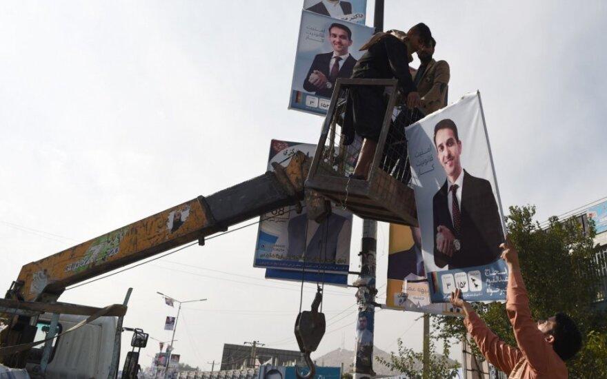 Afganistanas ruošiasi rinkimams