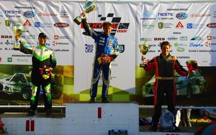 Europos autokroso čempionate Vilkyčiuose lietuviai taurių neiškovojo