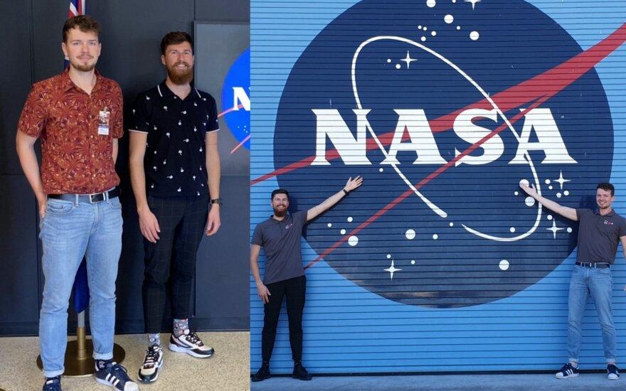 Lietuviai apsilankė ten, kur patenka tik išrinktieji: papasakojo, kas vyksta už uždarų NASA tyrimų centro durų