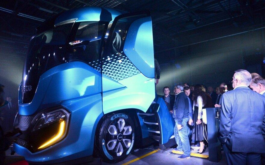 """""""Iveco Z Truck"""" pristatymas Kaune"""