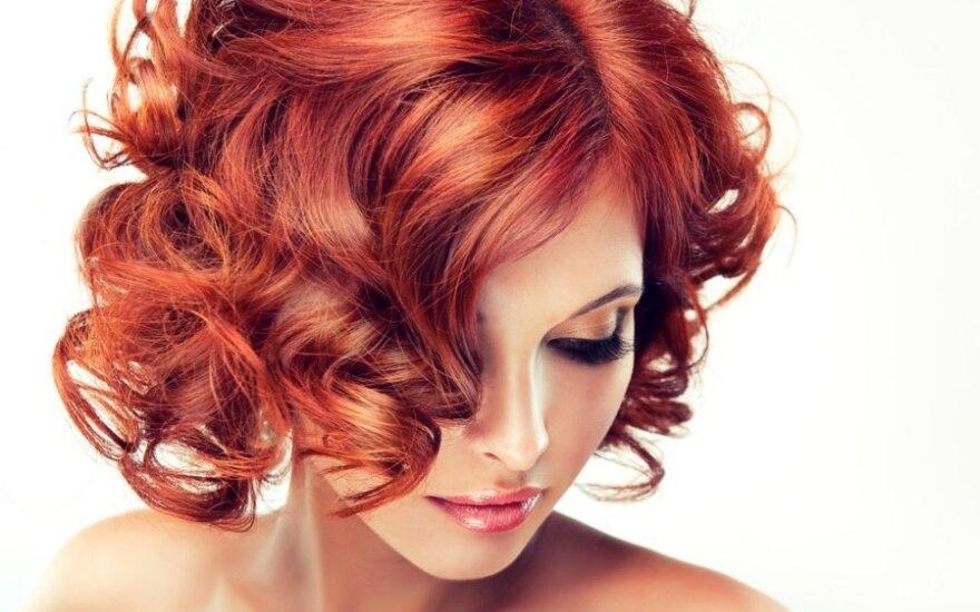 Ar raudonplaukės yra mažiau patrauklios nei brunetės ir blondinės?