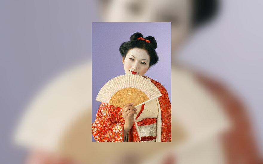 Geiša, kimono