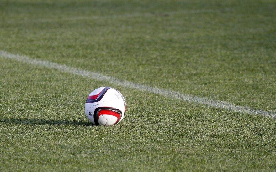 Lietuvos futbolo U-21 rinktinės treniruotė