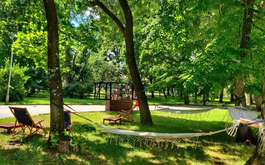 Vilnius Tech Parke atidaroma vasaros skaitykla