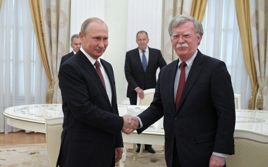 Putinas tikisi geresnių santykių su JAV