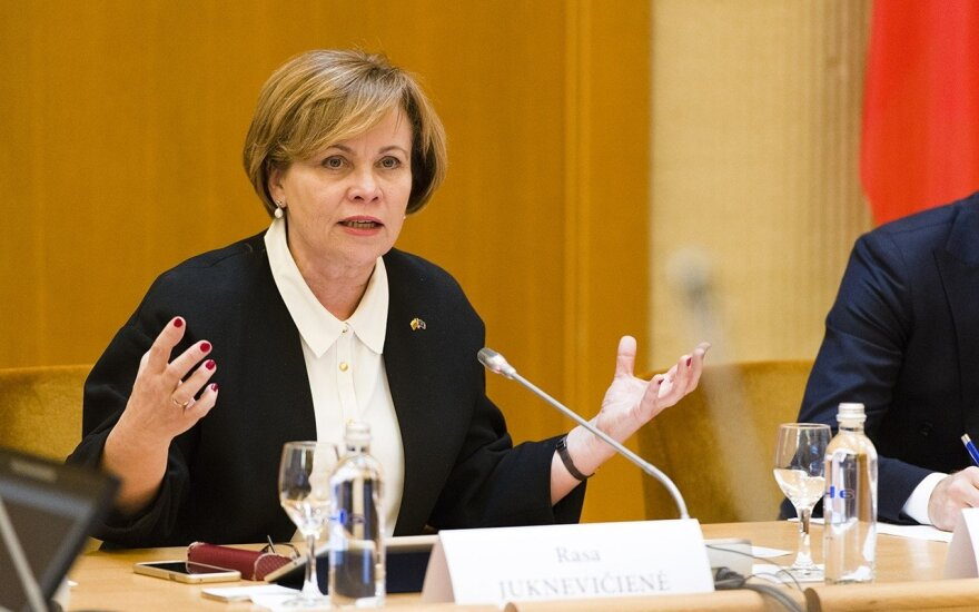 Rasa Juknevičienė. Ramūno Karbauskio eksperimentas žlugdo demokratiją