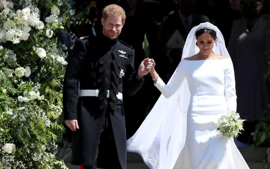 Princo Harry ir Meghan Markle vestuvės