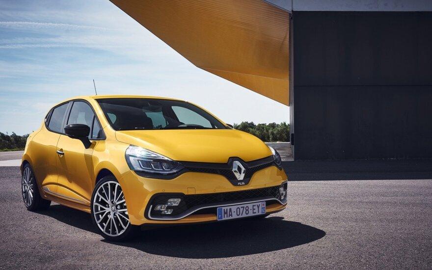 """Atnaujintas """"Renault Clio"""""""