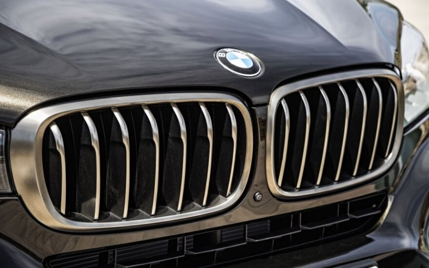 В Вильнюсе угнали BMW стоимостью 40 000 евро