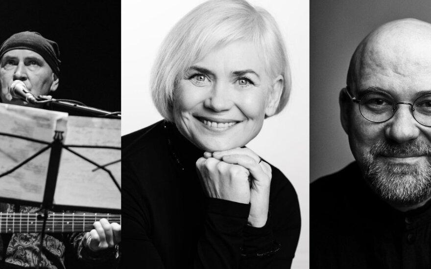 Simfoniniai keistuoliai: Darius Auželis, Ilona Balsytė, Aidas Giniotis