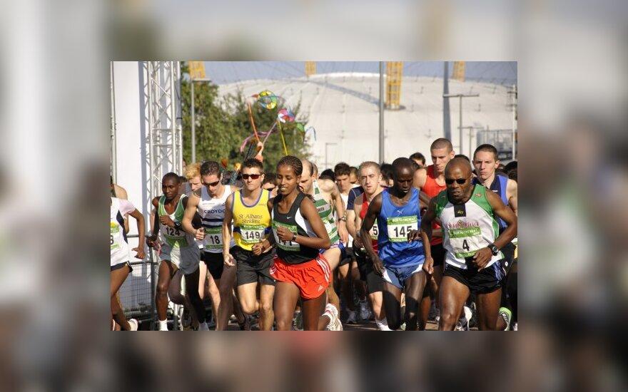Londono pusės maratono bėgimas