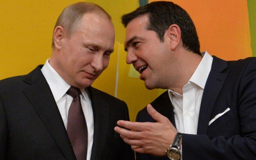 Putinas susitiks su Graikijos premjeru Tsipru