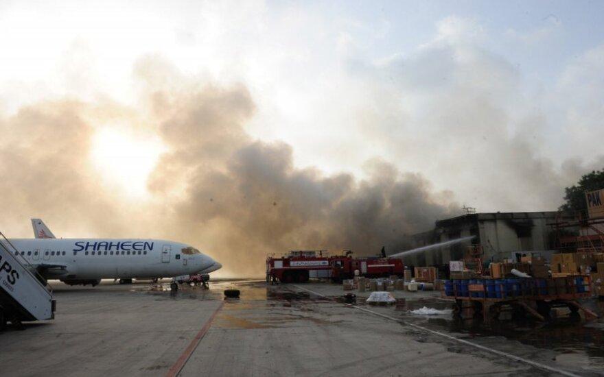 Antroji ataka prieš Karačio oro uostą atremta be aukų