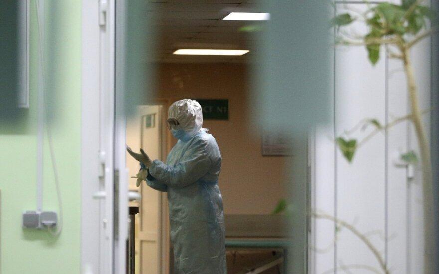 Baltarusijoje per parą nustatyti 707 nauji COVID-19 atvejai, mirė keturi pacientai