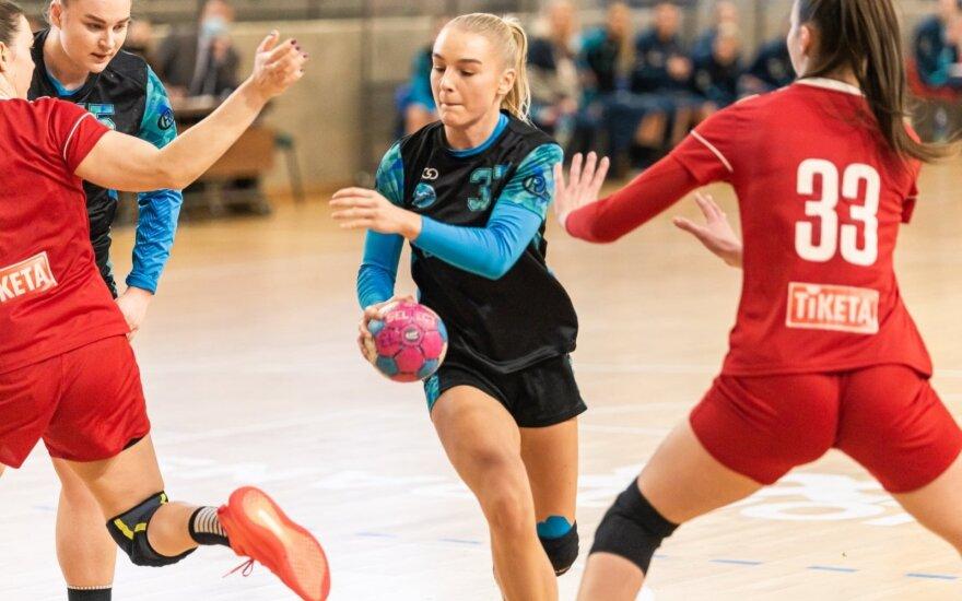 "Emilė Aglinskaitė Garliavos ""Cascada-HC Garliava SM""/LRF.lt nuotr."