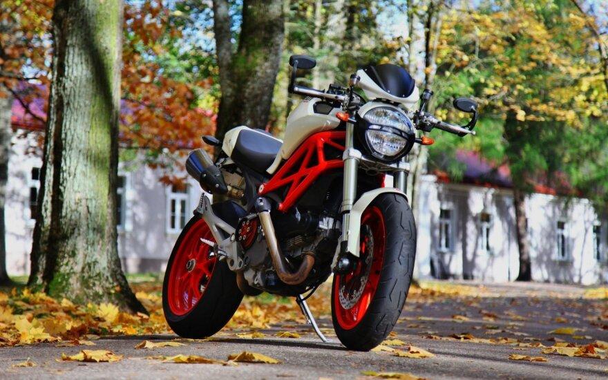 "2010 m. gamybos ""Ducati Monster 1100 ABS"""
