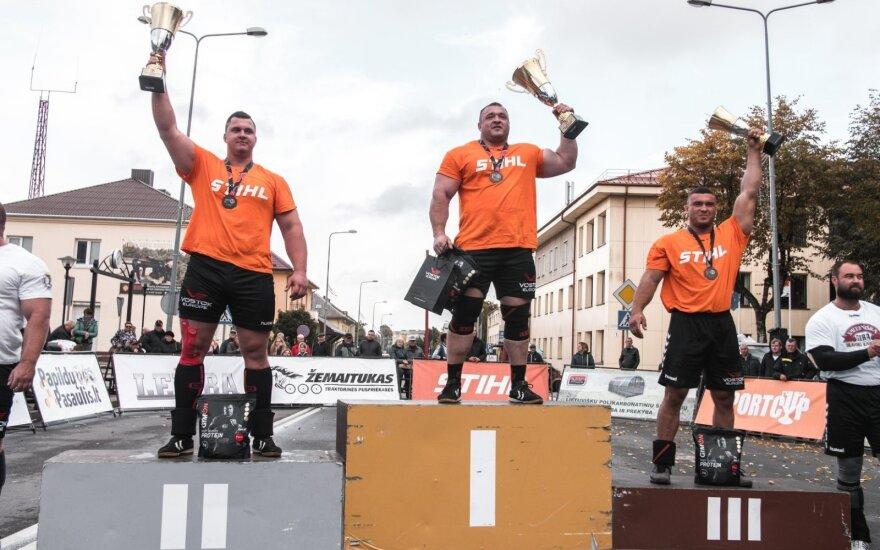 Lietuvos galiūnų čempionu tapo Lalas