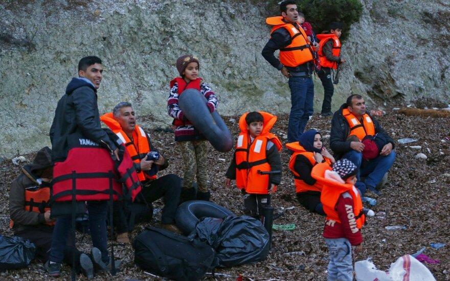 Italija ir Vokietija pasiuntė griežtesnę žinią dėl ES migrantų krizės