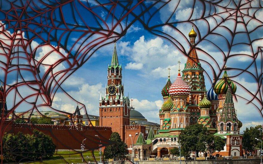 """Rusijos žvalgybos vadas žada """"veidrodines priemones"""", atsakant į malonę dviem rusų šnipams"""