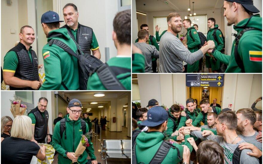 Lietuvos jaunimo krepšinio rinktinė grįžo iš pasaulio čempionato