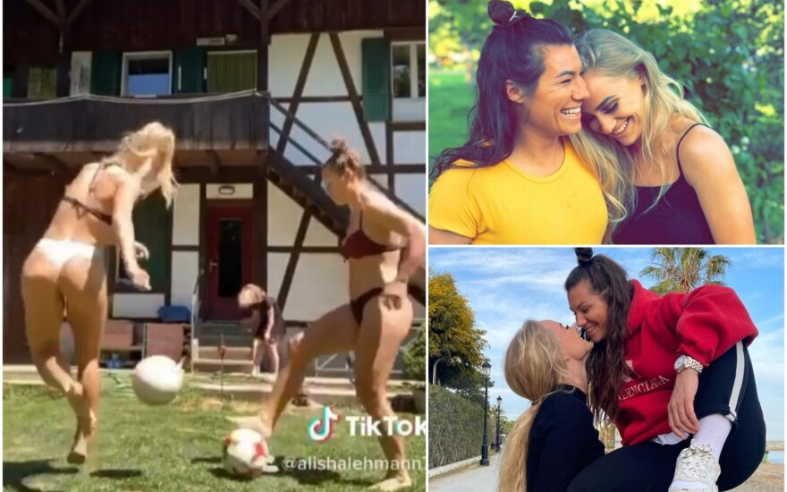 "Alisha Lehmann ir Ramona Bachmann / FOTO: ""Instagram"""