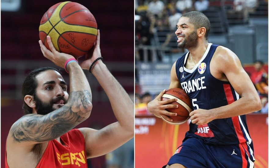 Ricky Rubio, Nicolas Batumas / FIBA